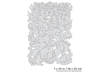 Artool Curse of Skullmaster Bonz II by Craig Fraser airbrushmall