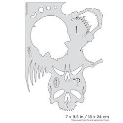 Artool Skullmaster The Frontal by Craig Fraser airbrushmall