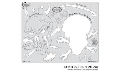 Artool Wrath of Skullmaster Mr. Potato Bonz by Craig Fraser airbrushmall