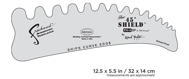 Artool #4 The 45 Shield by Richard Montoya airbrushmall