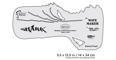 "Artool #8 The Wave Maker by Mark ""The Shark"" Rush airbrushmall"