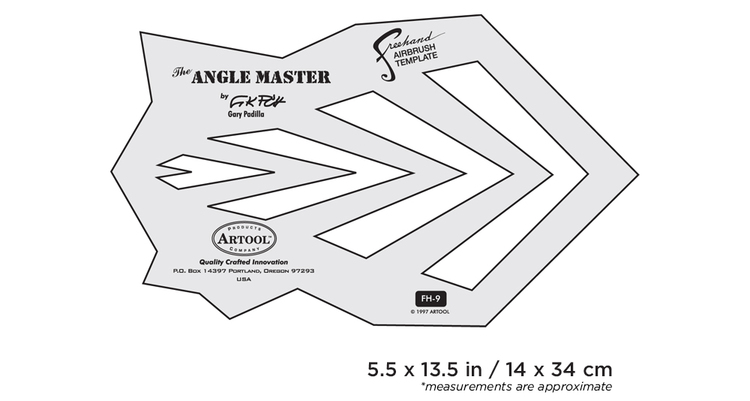 Artool #9 The Angle Master by Gary Padilla airbrushmall