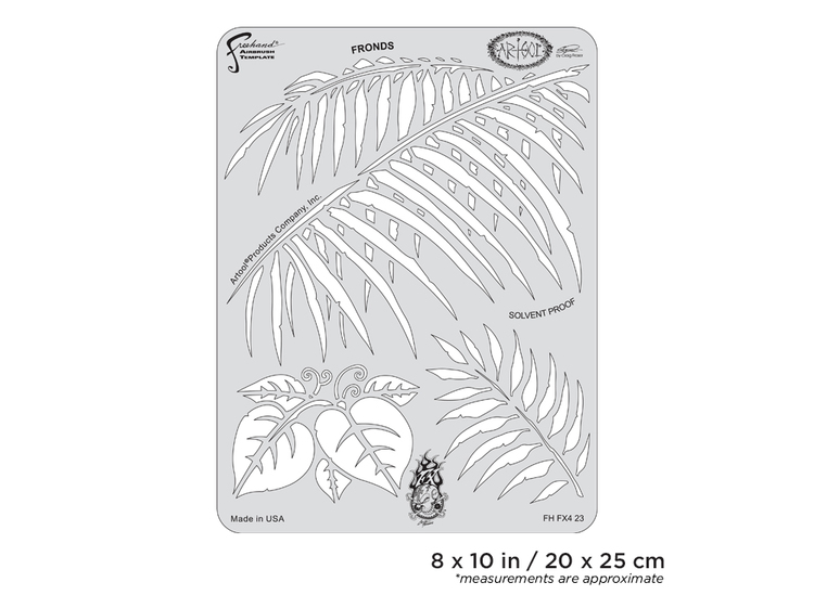Artool FX4 Fronds by Craig Fraser airbrushmall