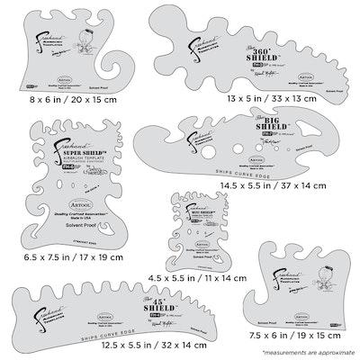 Artool The Essential Seven Set - Set med sju airbrushmallar