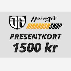 Presentkort 1500 kr
