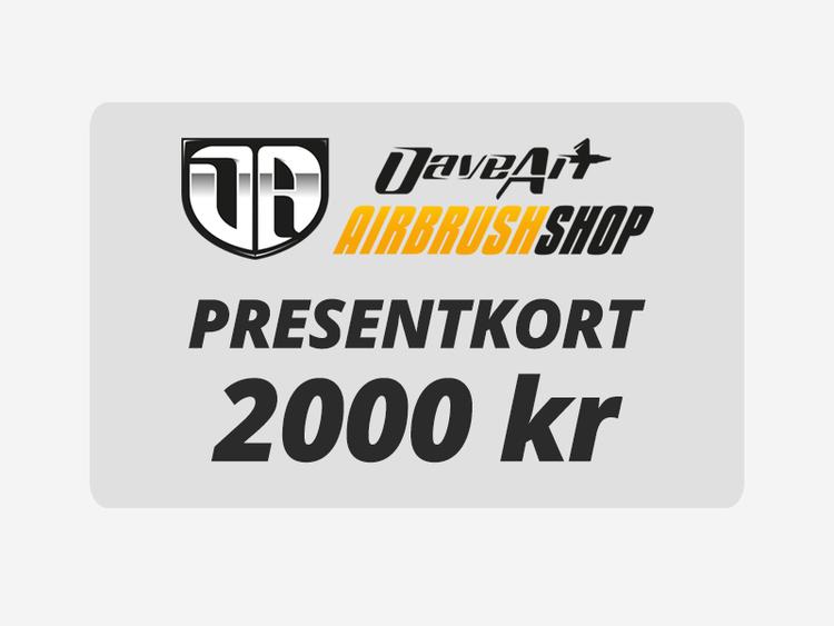 Presentkort 2000 kr