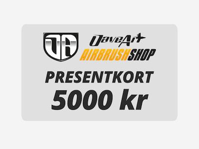 Presentkort 5000 kr