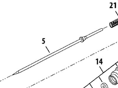 Färgnål Eclipse HP-G3/G5 (ref 5)