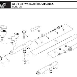 Nålpackningsskruv NEO HP-CN/BCN (ref 6)
