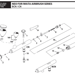 O-Ring Air Valve HP-CN/BCN (ref 14)