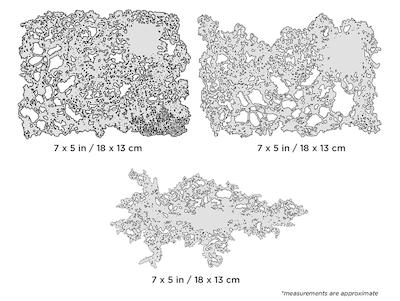 Artool Texture FX Mini Series by Gerald Mendez - Set med 3 airbrushmallar