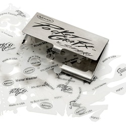 Artool PocketGraFX Freehand Airbrush Template Set by Scott MacKay airbrushmallar