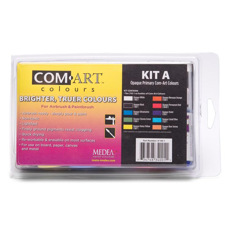 Com-Art Kit A Täckande Primary Färgkit