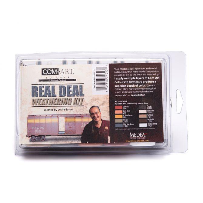Com-Art Real Deal Weathering Kit Färgkit