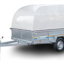 SM-25010-GL SM-Släpet med Glasfiberkåpa