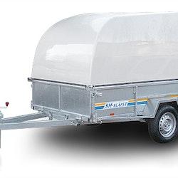SM-25013-01-GL SM-Släpet med Glasfiberkåpa