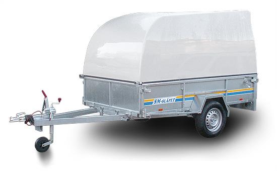 SM-25075-GL SM-Släpet med Glasfiberkåpa