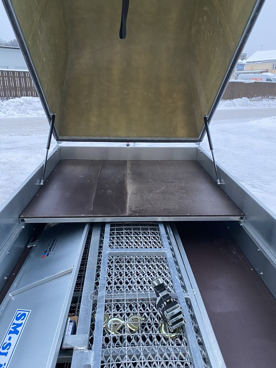 Lastplan SM 250-01 Halva flaket