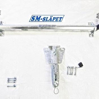 Axel och kulkoppling till släpvagn. AL-KO  AXEL 750 KG (Komplett kit för ombyggnation)