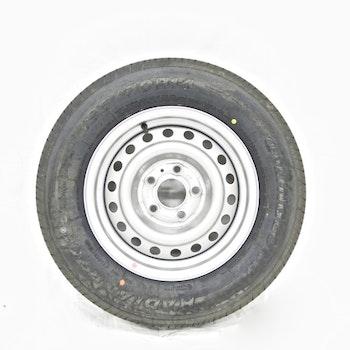 """Hjul med sommardäck 14"""" 195/70R14 5 bultade"""