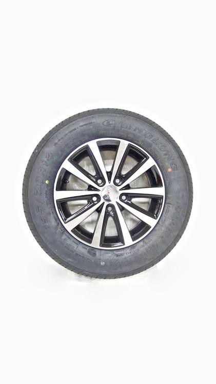 """Aluminum hjul med sommardäck 14"""" 195/70R14"""