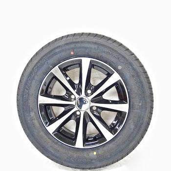 """Aluminum hjul med sommardäck 13"""" 155/80R13"""