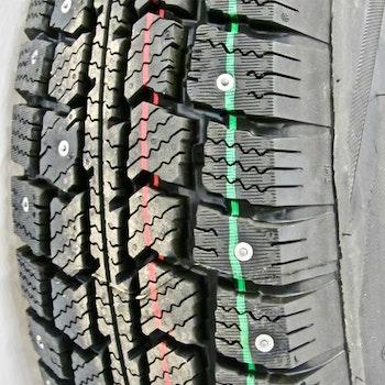 """Hjul med dubbdäck 14"""" 185/70R14"""