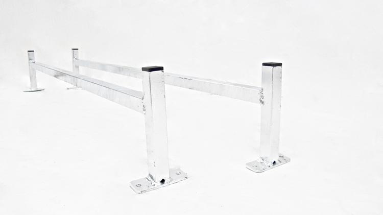 Lastbågar, takräcke till glasfiberkåpa