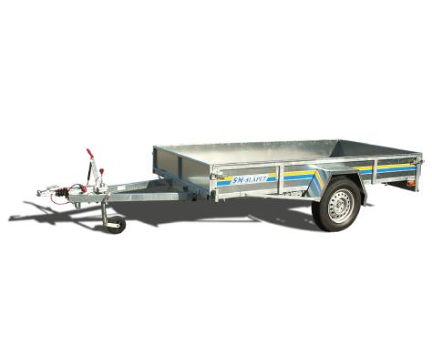 SM-30075-NG SM-Släpet med nätgrindar
