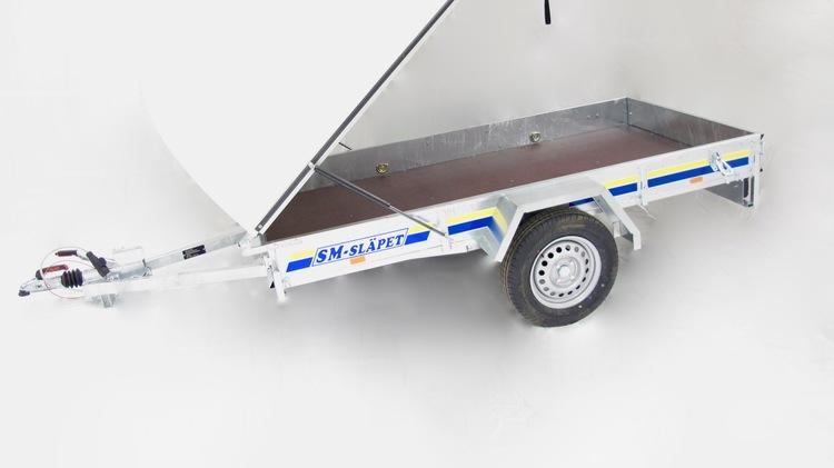 SM-2575-GL SM-Släpet med Glasfiberkåpa