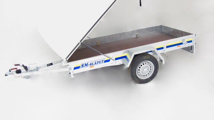 SM-2590-GL SM-Släpet med Glasfiberkåpa