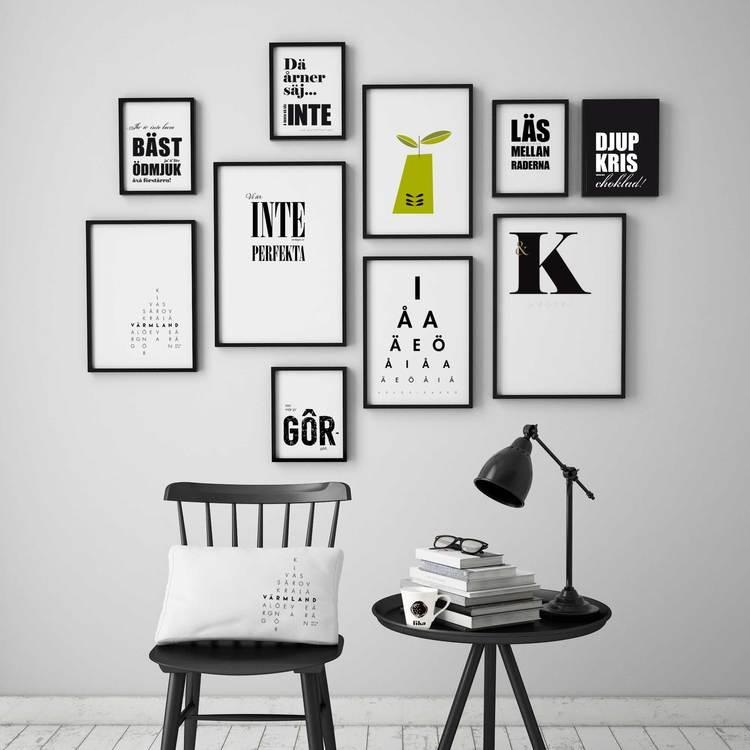 Poster: K & White