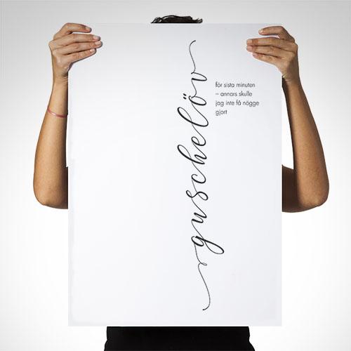 Poster: Guschelöv