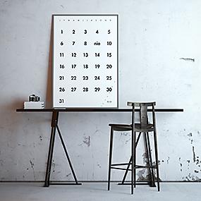 Poster: Evighetskalender