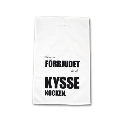Kökshandduk: Kyss kocken