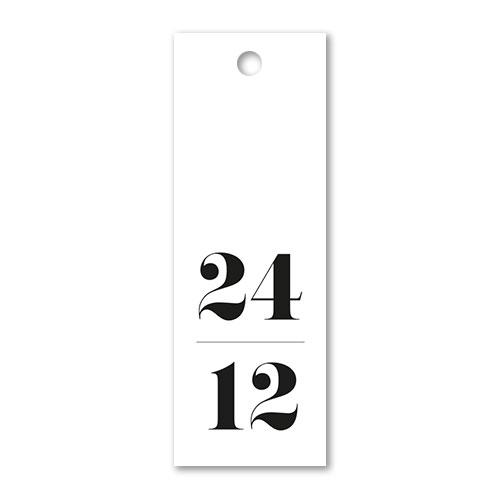 Hangtag: 24/12