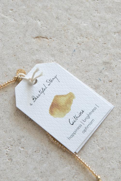 Charming Citrine Gold
