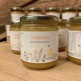 Honung med citron 350 gr, Vår Gård Rubbatorp
