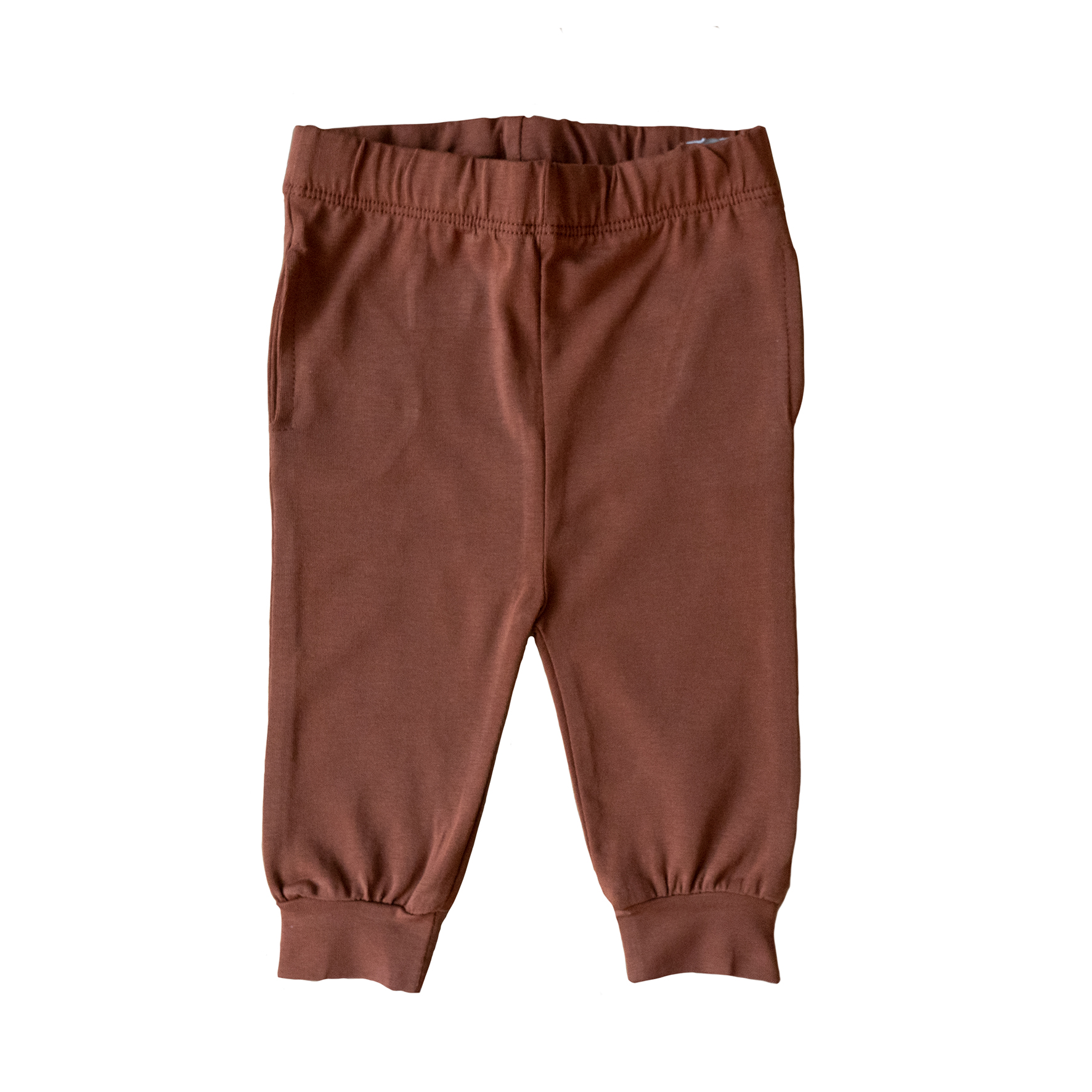 Copper brown jerseybyxor