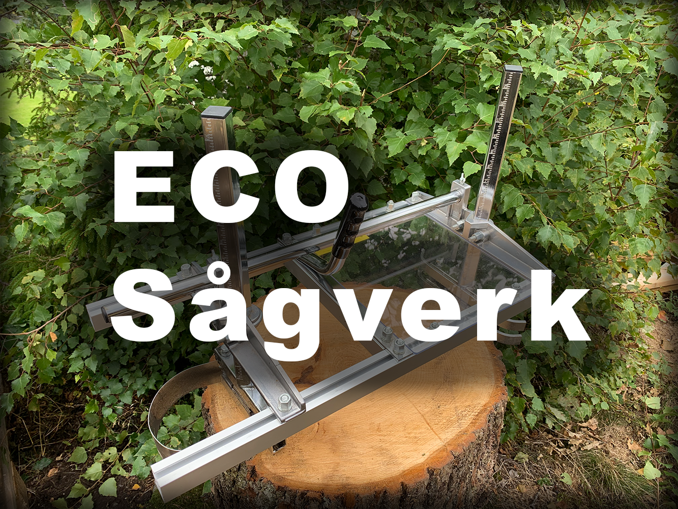 Eco Sågverk - Redskapsboden.se