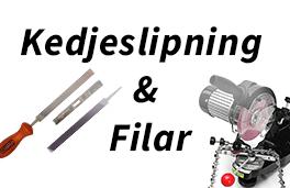 Kedjeslipning  & Filar - Redskapsboden.se