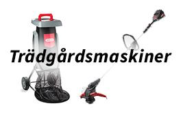 Trädgårdsmaskiner - Redskapsboden.se