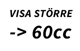 60cc - Redskapsboden.se