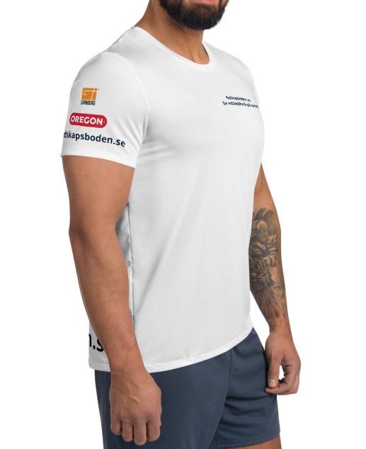 Men T-shirt Athletic 98% Polyester