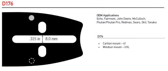 """Svärd 13""""  0.325 1.3mm (0.050) 56DL"""
