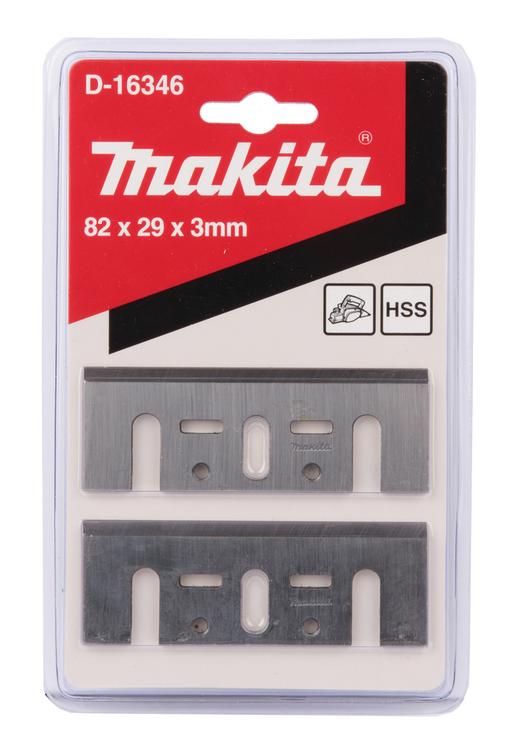 MAKITA Hyvelkniv HSS 82MM 2 ST till Barkfräs