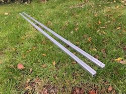Förlängnings skena för Minisågverk 7ft (213cm)