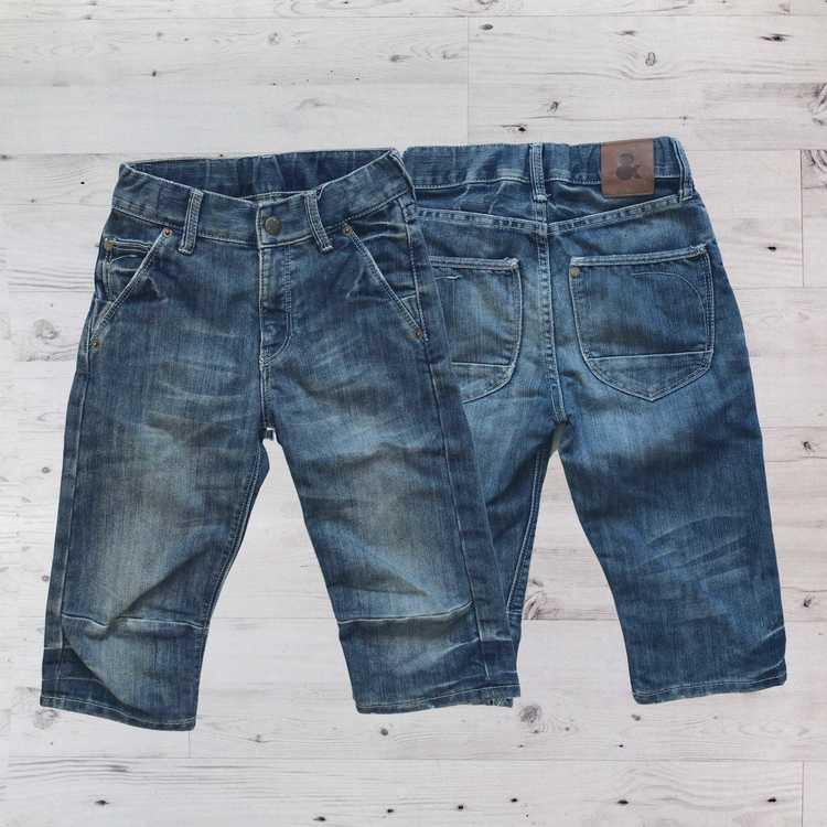 Jeansshorts, H&M, Stl 122