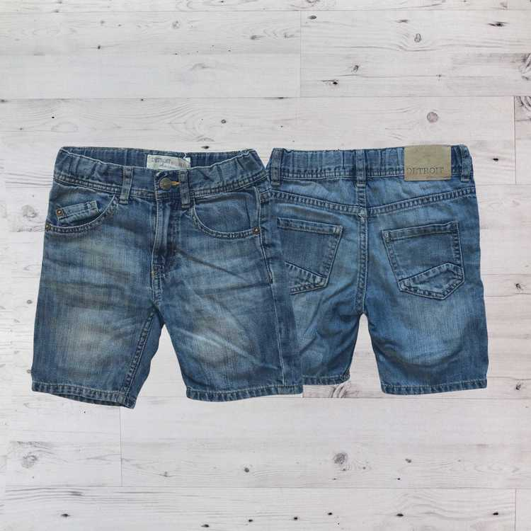 Jeansshorts, Lindex, Stl 98