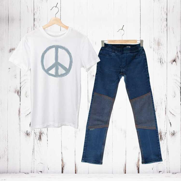 Nimble Patch, Stl 128, Slim fit, H&M
